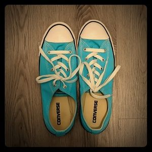 Converse All Star Shoes Turquoise Women's Size 9